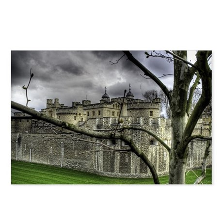 Moody Tower of London Postcards (Package of 8)