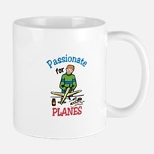 Passionate for Planes Mugs