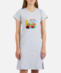 Make Mine Chicago Style Women's Nightshirt