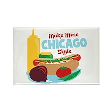 Make Mine Chicago Style Magnets