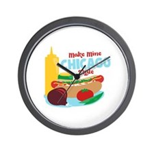 Make Mine Chicago Style Wall Clock