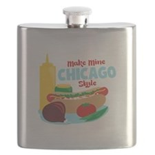 Make Mine Chicago Style Flask