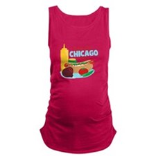 Make Mine Chicago Style Maternity Tank Top