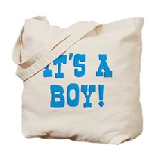 It's A Boy Tote Bag