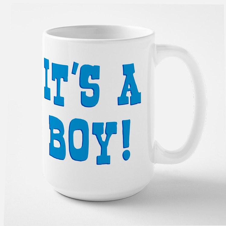 It's A Boy Large Mug