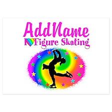 FIGURE SKATER Invitations