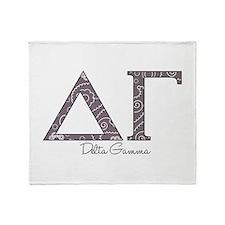 Delta Gamma Throw Blanket