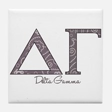 Delta Gamma Tile Coaster