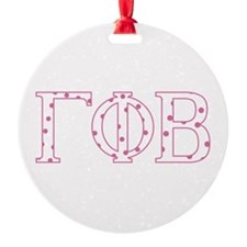Gamma Phi Beta Ornament