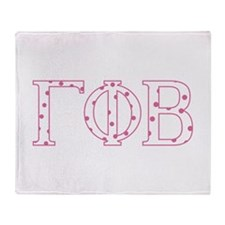 Gamma Phi Beta Throw Blanket