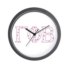 Gamma Phi Beta Wall Clock