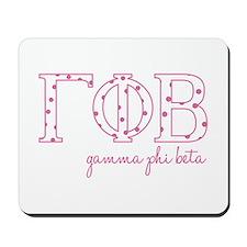Gamma Phi Beta Mousepad