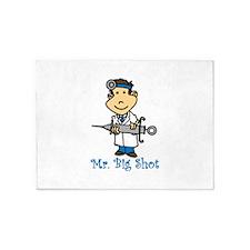 Mr. Big Shot 5'x7'Area Rug