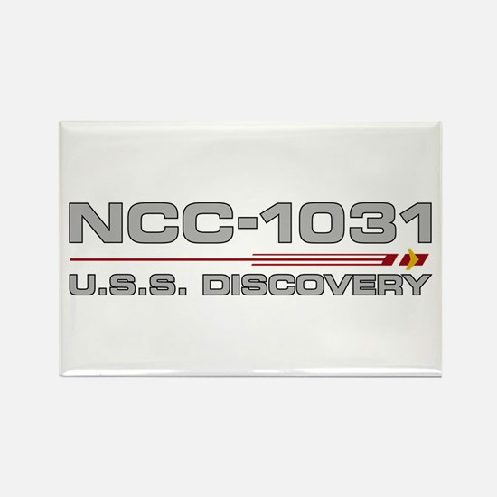 USS Discovery - Grey Hull Edition Magnets