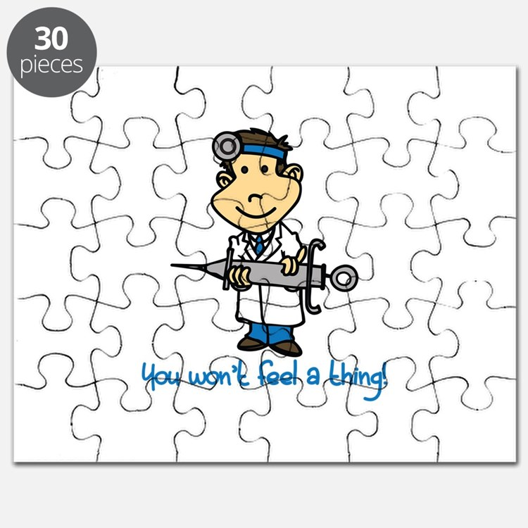Wont Feel a Thing Puzzle