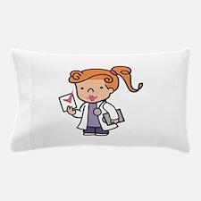 Girl Med Student Pillow Case