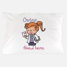Owies Fixed Here Pillow Case