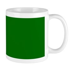 Solid GREEN Mugs