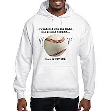 Baseball Pun-- Hoodie