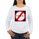 Don't Pass Gas Women's Long Sleeve T-Shirt