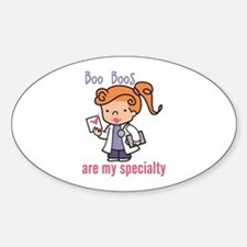 Boo Boo Specialty Decal