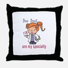 Boo Boo Specialty Throw Pillow