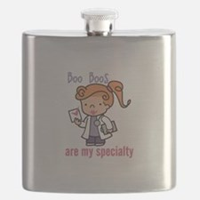 Boo Boo Specialty Flask
