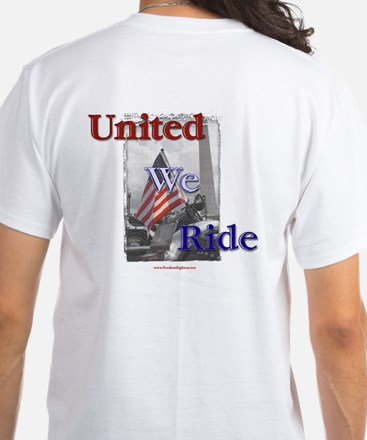 United We Ride White T-Shirt