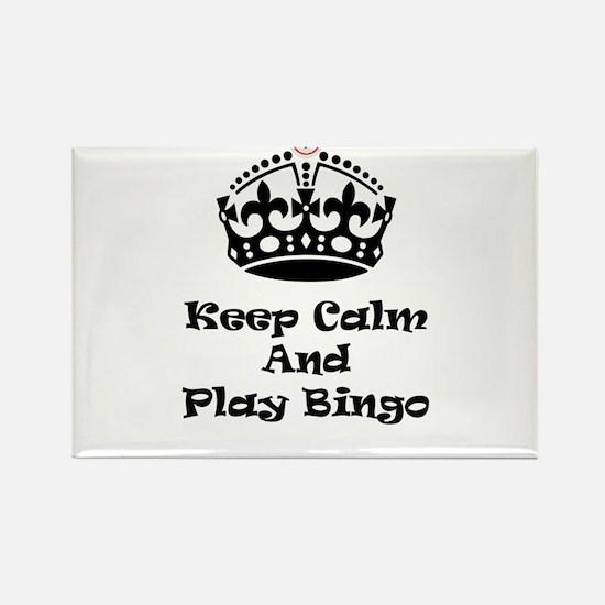 Keep Calm Play Bingo Magnets
