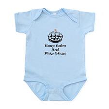 Keep Calm Play Bingo Body Suit