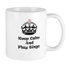 Keep Calm Play Bingo Mugs