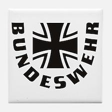German Army Tile Coaster