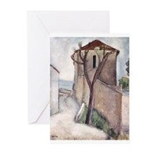 Cute Expressionist art Greeting Cards (Pk of 10)