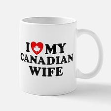 I Love My Canadian Wife Mug