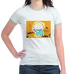 Baby Jesus Ringer T-shirt