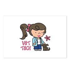 Vet Tech Postcards (Package of 8)