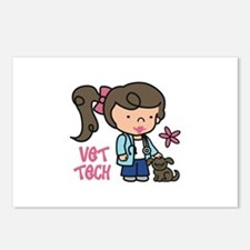 Vet Tech Postcards (Package of 8)
