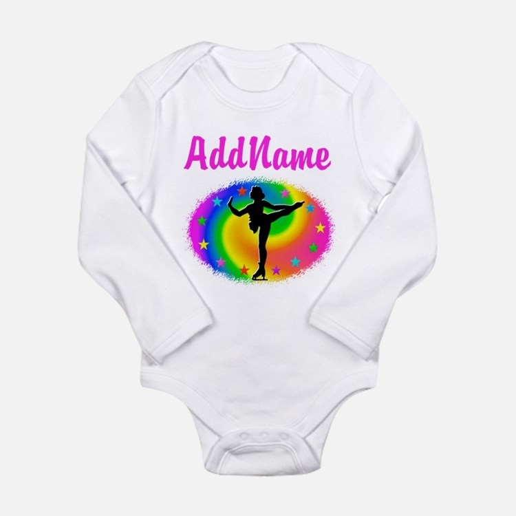 LOVE SKATING Long Sleeve Infant Bodysuit