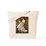 Windflowers / Golden Tote Bag