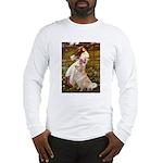 Windflowers / Golden Long Sleeve T-Shirt