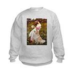 Windflowers / Golden Kids Sweatshirt