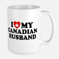 I Love My Canadian Husband Mug