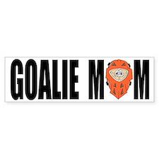 Goalie Mom Bumper Car Sticker