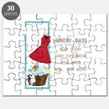 Laundry Rules Puzzle