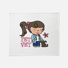 Pet Vet Throw Blanket