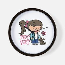 Pet Vet Wall Clock