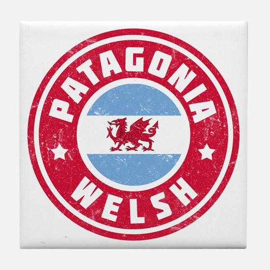 Patagonia Welsh Flag Tile Coaster