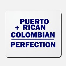 Puerto Rican + Colombian Mousepad