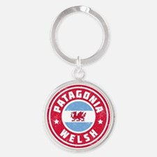 Patagonia Welsh Flag Keychains
