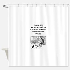 reader Shower Curtain